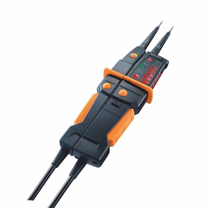 Testo 750 2 Spannungsprufer Ein Und Zweipolig Mit Fi Tester 67 00